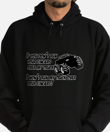 If you dont run your fingers.png Hoodie (dark)