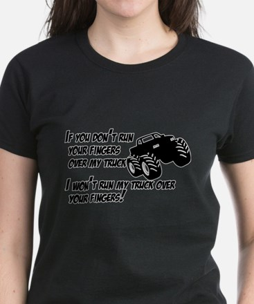 If you dont run your fingers.png Women's Dark T-Sh