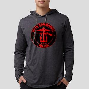 10 Commando ZBB - Red Round Mens Hooded Shirt
