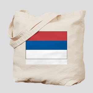Serbia Flag Picture Tote Bag