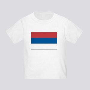 Serbia Flag Picture Toddler T-Shirt