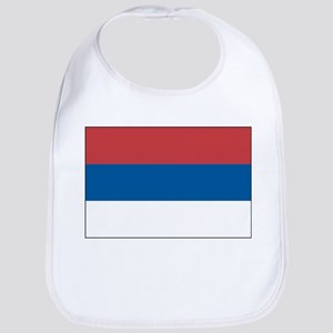 Serbia Flag Picture Bib
