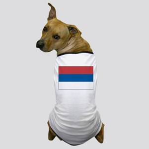 Serbia Flag Picture Dog T-Shirt