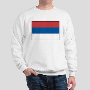 Serbia Flag Picture Sweatshirt