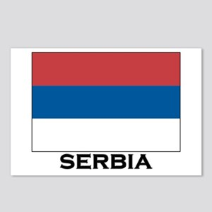 Serbia Flag Stuff Postcards (Package of 8)