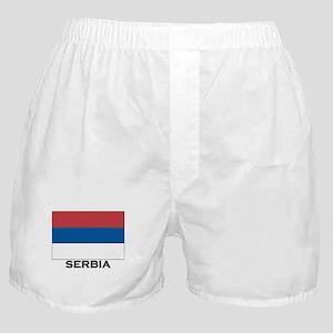 Serbia Flag Stuff Boxer Shorts