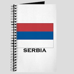 Serbia Flag Stuff Journal