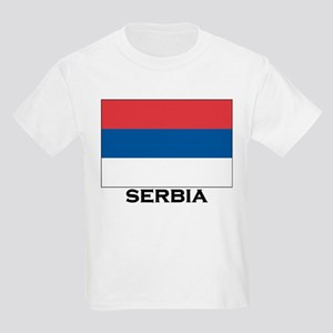 Serbia Flag Stuff Kids T-Shirt
