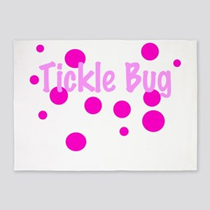 Tickle Bug 5'x7'Area Rug