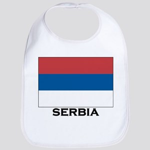 Serbia Flag Stuff Bib