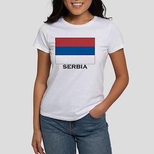 Serbia Flag Stuff Women's T-Shirt