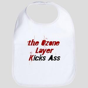 the Ozone Layer Kicks Ass Bib