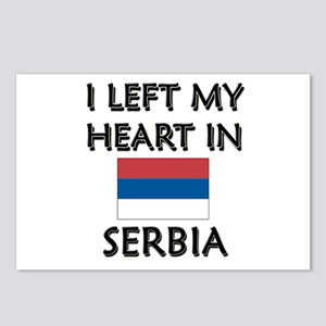 I Left My Heart In Serbia Postcards (Package of 8)