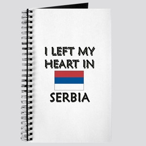 I Left My Heart In Serbia Journal