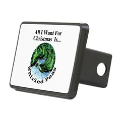 Christmas Peas Hitch Cover