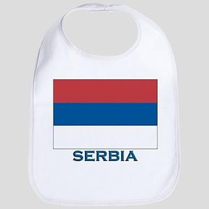 Serbia Flag Gear Bib