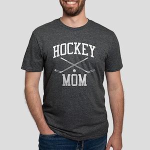 Hockey Mom Mens Tri-blend T-Shirt