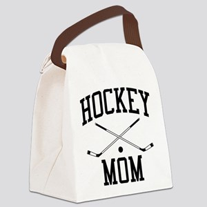 Hockey Mom Canvas Lunch Bag