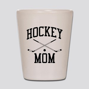 Hockey Mom Shot Glass