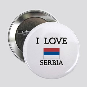 I Love Serbia Button