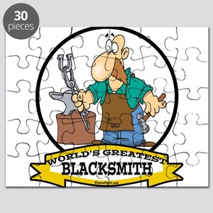 WORLDS GREATEST BLACKSMITH CARTOON Puzzle