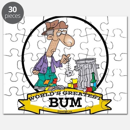WORLDS GREATEST BUM MEN CARTOON.png Puzzle