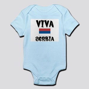 Viva Serbia Infant Creeper