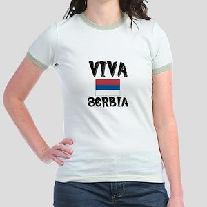 Viva Serbia Jr. Ringer T-Shirt