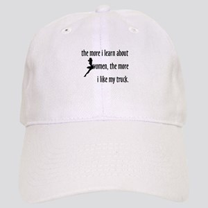 The More I Learn About Women Cap