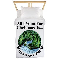 Christmas Peas Twin Duvet