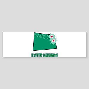 Lets Bounce Dice.png Sticker (Bumper)