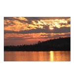 Cavity Lake Sunset Postcards (Package of 8)
