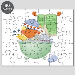 cute bathtime ducky Puzzle