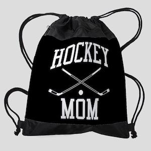 Hockey Mom Drawstring Bag