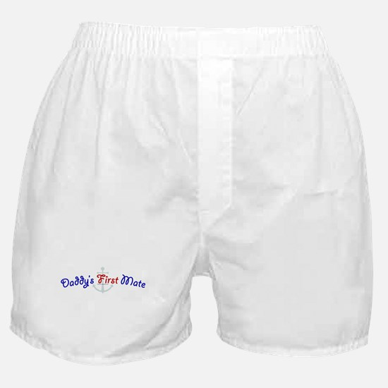 daddys_first_mate.jpg Boxer Shorts