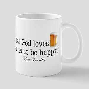 Beer Is Proof Mug