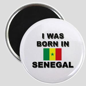 I Was Born In Senegal Magnet