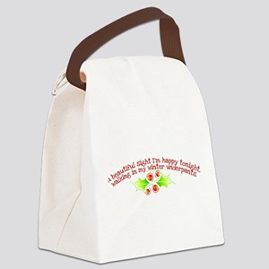 winter_underpants Canvas Lunch Bag