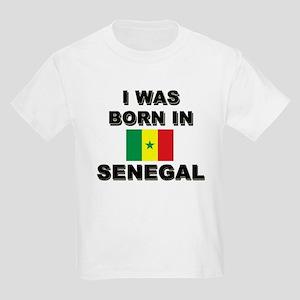I Was Born In Senegal Kids T-Shirt