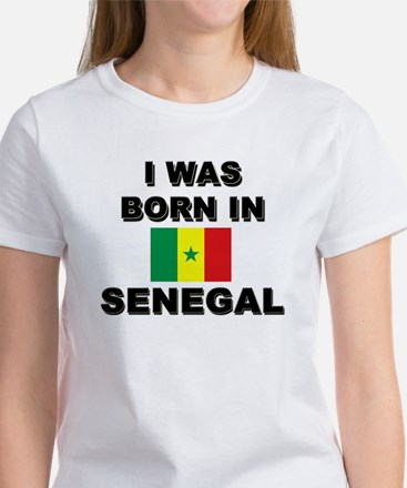 I Was Born In Senegal Women's T-Shirt