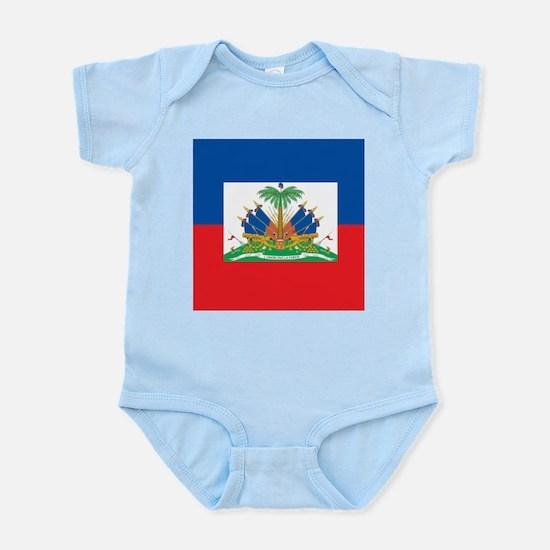 Haiti Flag Body Suit