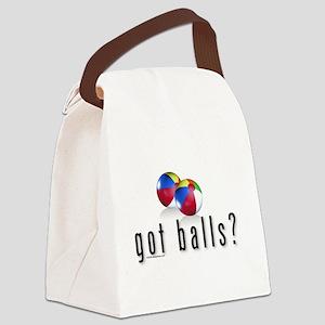 Got Beach Balls? Canvas Lunch Bag