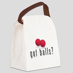 Got KickBalls? Canvas Lunch Bag