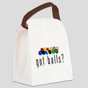 Got Croquet Balls? Canvas Lunch Bag