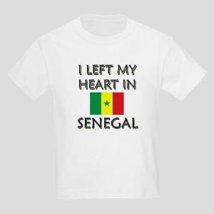 I Left My Heart In Senegal Kids T-Shirt