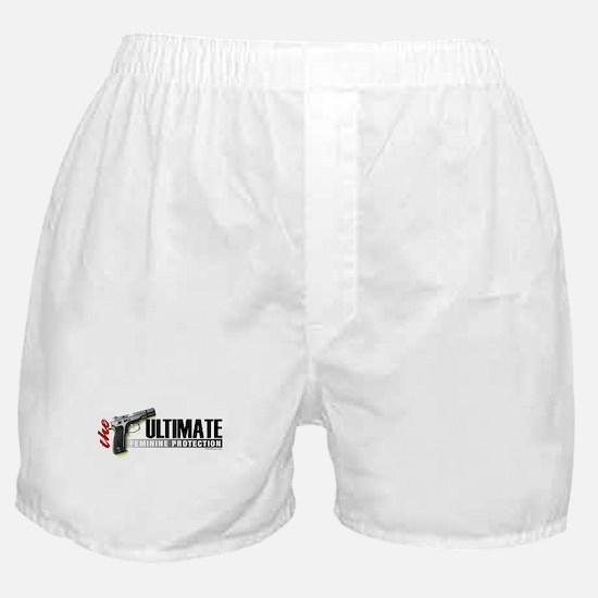 Cute Bear arms Boxer Shorts