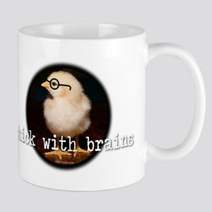 chick_with_brains Mugs