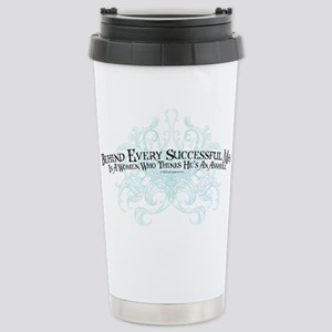 Successful Man Stainless Steel Travel Mug