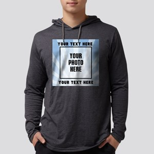 Personalized Sports Mens Hooded Shirt
