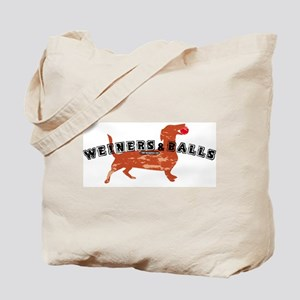 Weiners and Balls Tote Bag